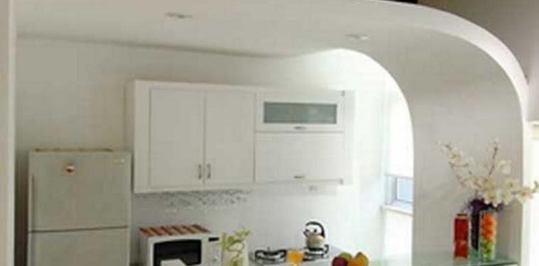 Dekorasi Desain Dapur Dengan Mini Bar Terbaru