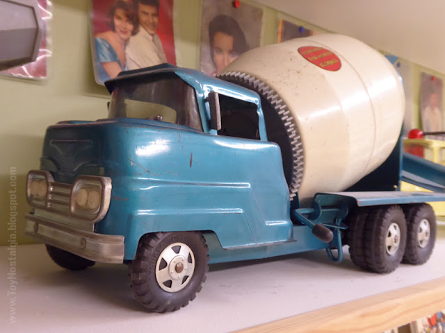 Toy Shop Museun Grundarfjördur Iceland Emil Kaffi Concrete Mixer Truck