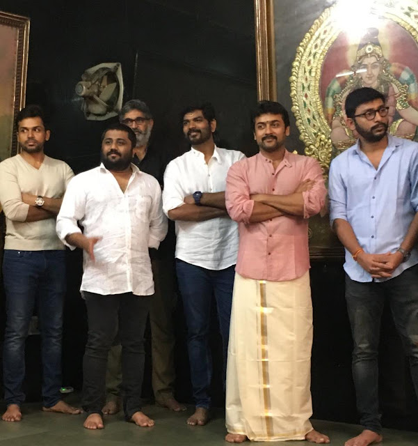 Thaana serntha kootam tamil movie launch photos
