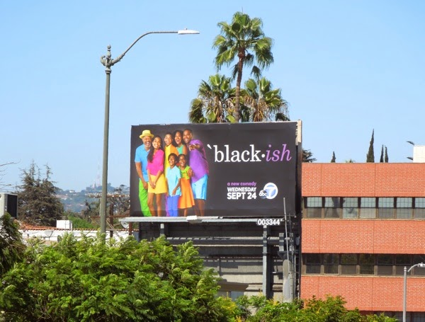 Black-ish TV billboard