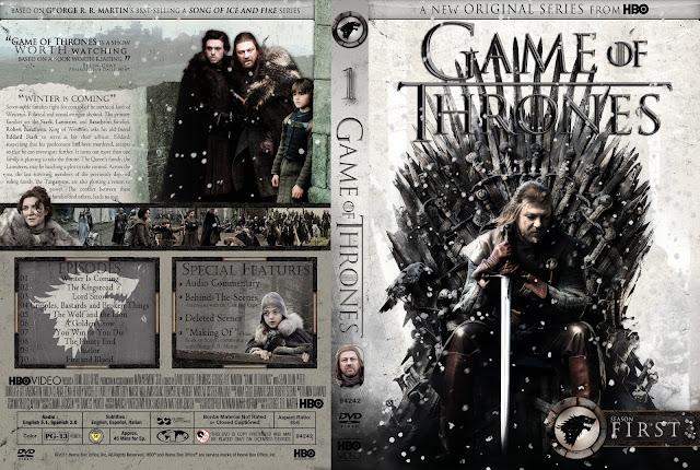 Capa DVD Game Of Thrones Primeira Temporada Completa