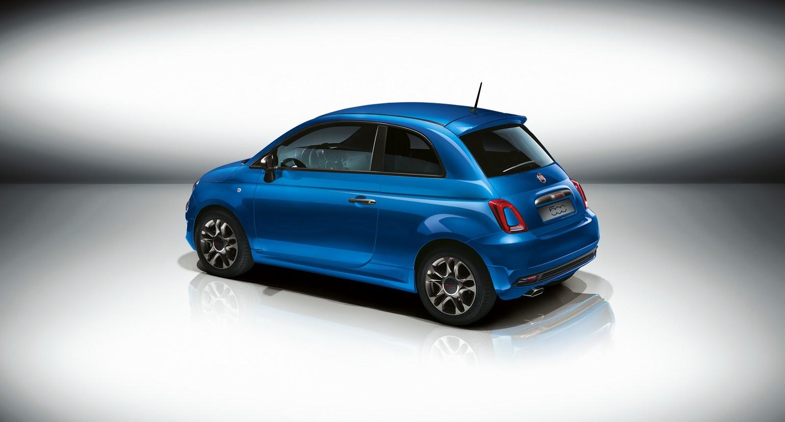 Fiat Sporty 500S nhỏ nhắn nhưng lại vô cùng mạnh mẽ
