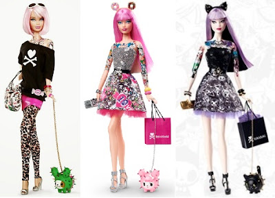 tokidoki barbie 2012 2015 cactus puppy doughnut ears cat kitten shopping