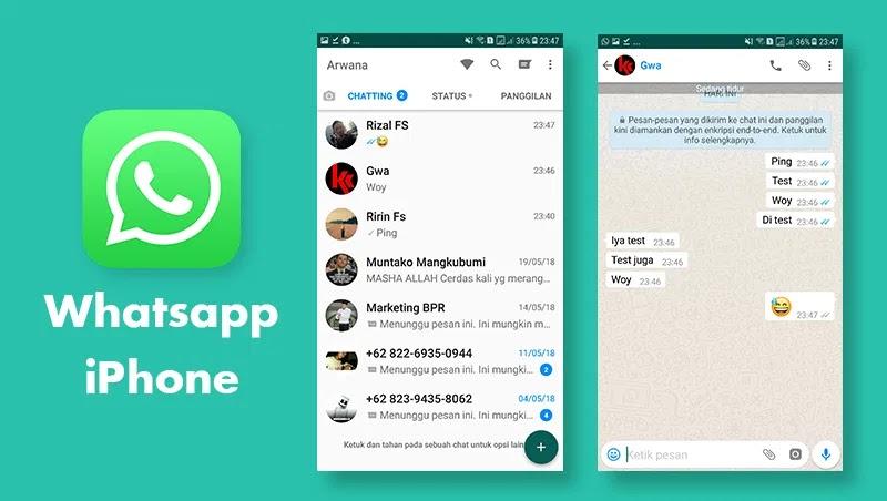 Download Tema Whatsapp Iphone Terbaru [Tema Wa Paling ...
