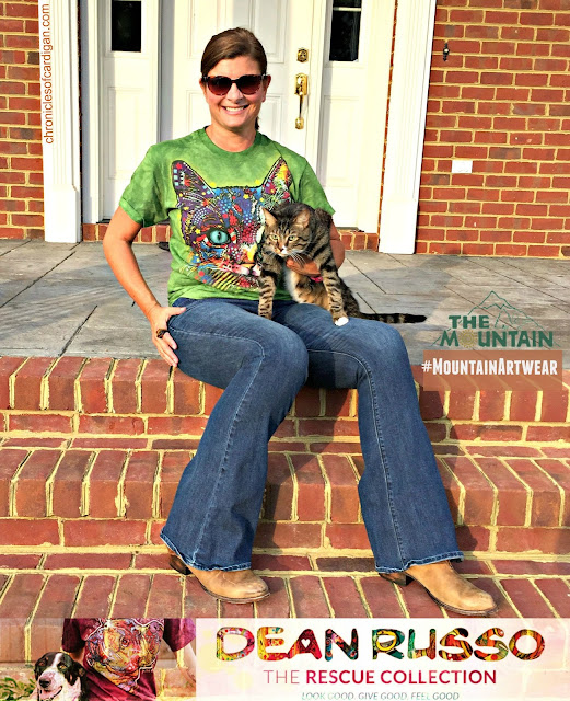 The Mountain Dean Russo rescue cat tee review