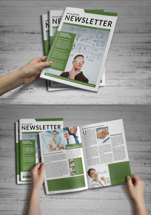 40. General Newsletter Template