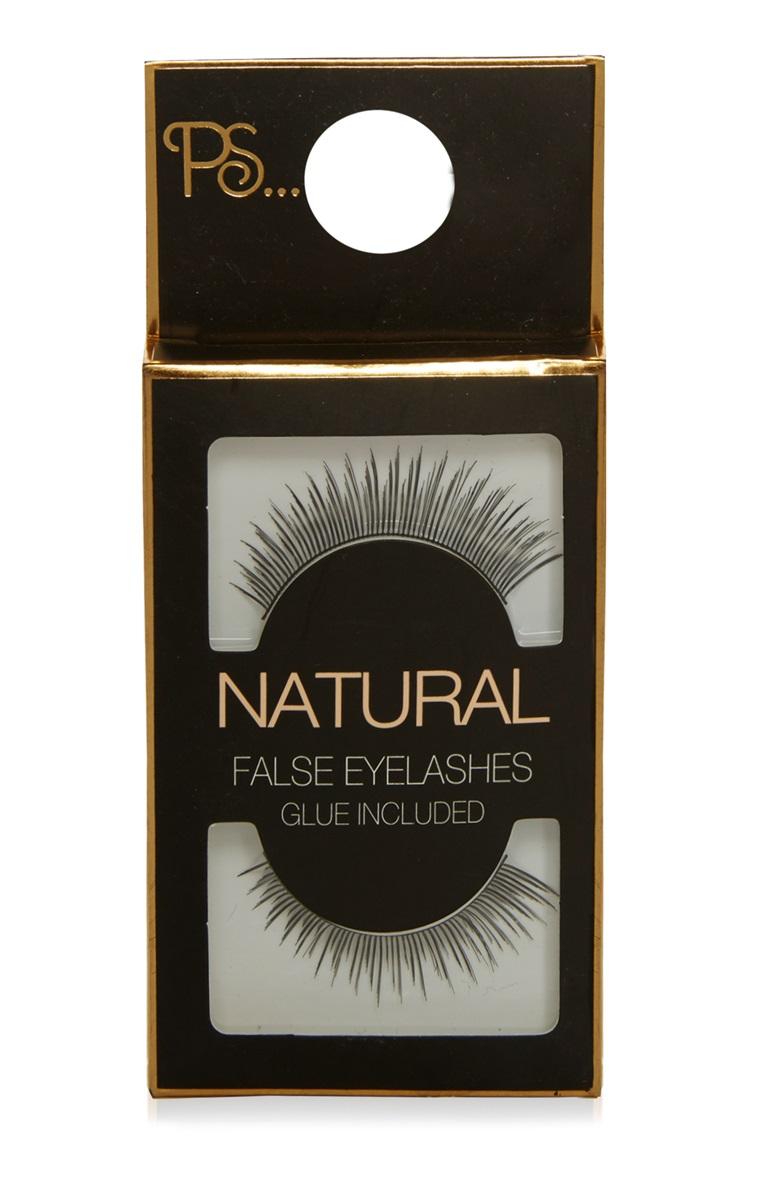 Primark 1 False Eyelashes Styled With Lipstick