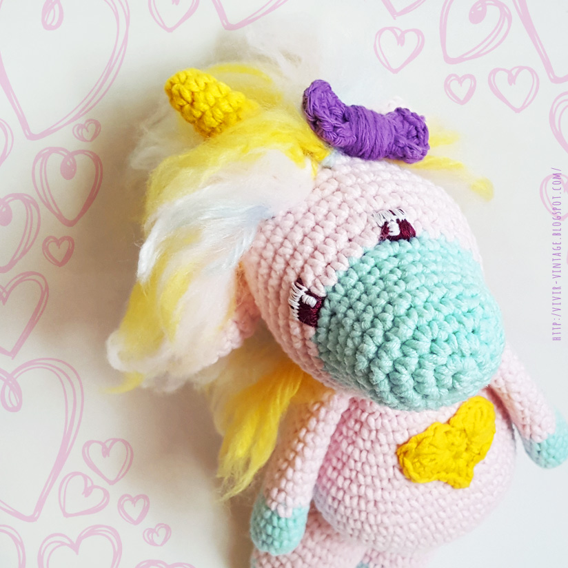 amigurumi unicornio patron gratis