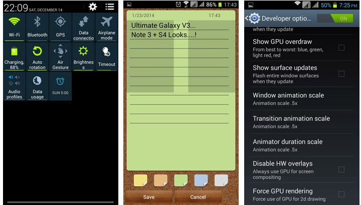 Note 3 rom for s4