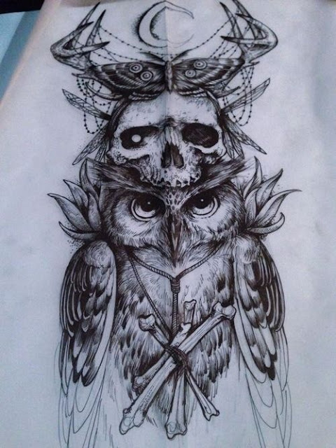 10 Mysterious Owl Tattoo Designs & Meanings