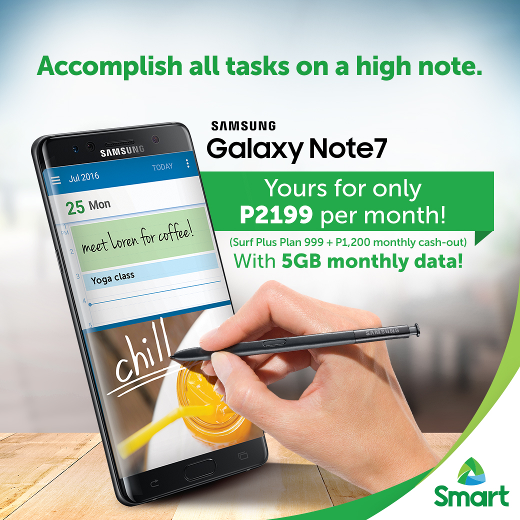 SMART Postpaid Samsung Galaxy Note