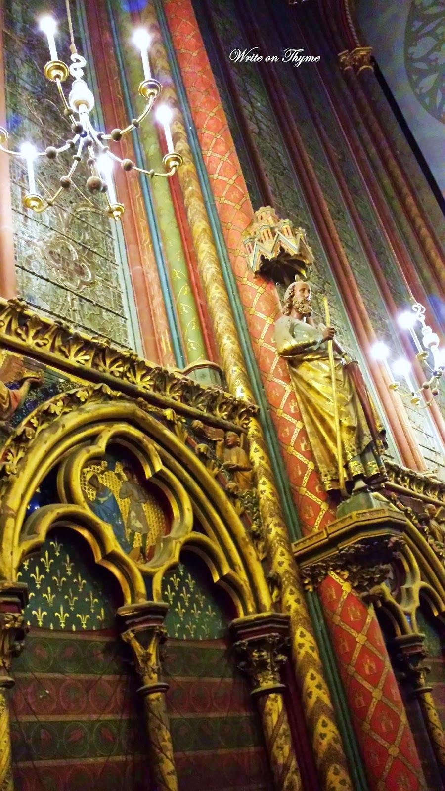 Write On Thyme: Vivaldi Concert at La Sainte Chapelle