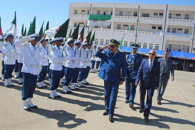 جديد تخرّج 239 عون شرطة بمعسكر جويلية 2017