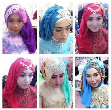 hijab wisuda modern