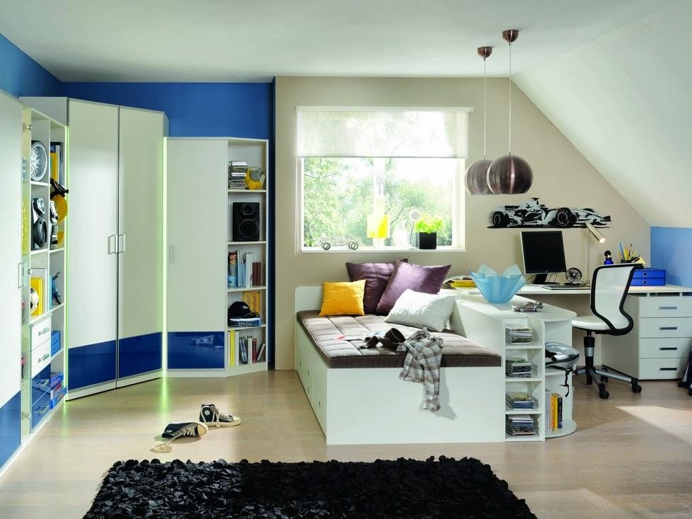 Dise os de dormitorios para adolescentes modernos ideas for Diseno de habitacion para adolescente