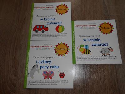 Wydawnictwo Ida- Seria zielona książeczki dla 3-latków
