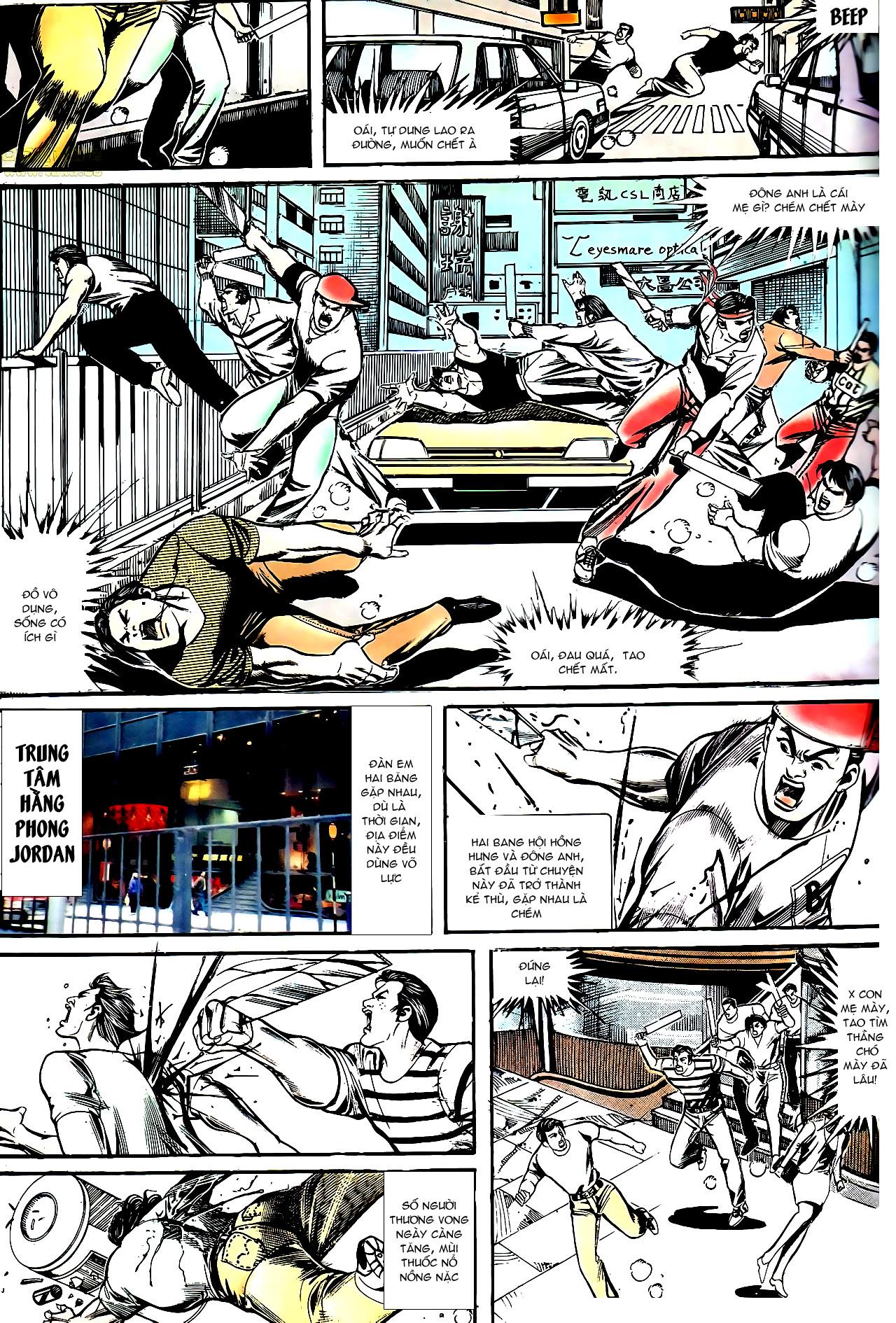 Người Trong Giang Hồ chapter 154: nam đẹp trai trang 20