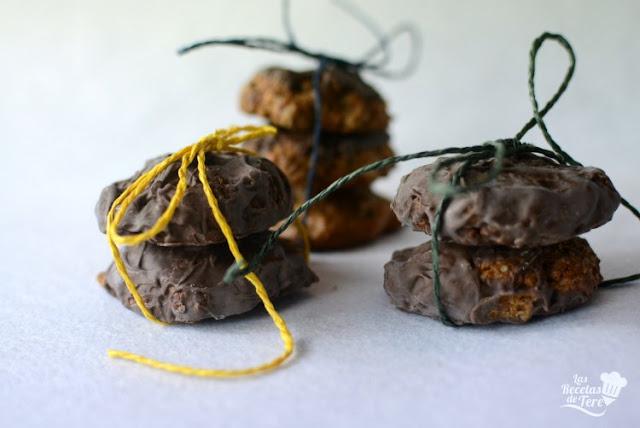 Galletas de muesli coco y cubierta de chocolate 04