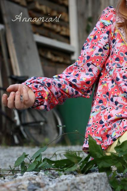 Wanderer Tunic Mädchen aus Berrylove Viskose