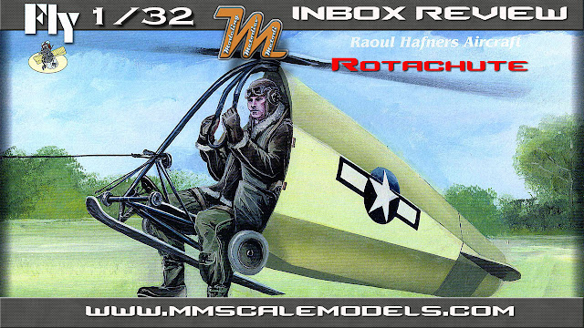 Hafners Rotachute Mk. III, FLY models - scale model inbox review