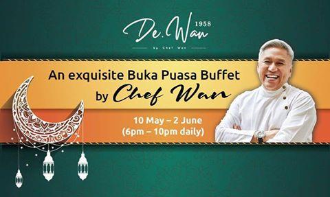 De.Wan 1958 by Chef Wan Ramadan 2019