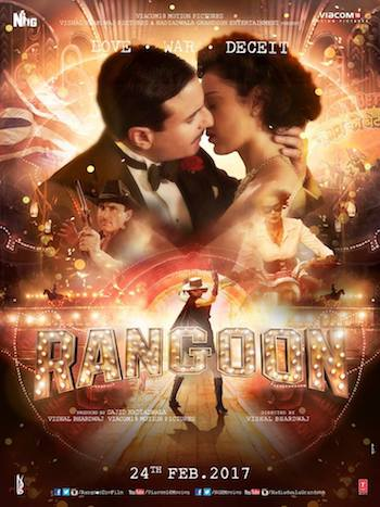 Rangoon 2017 Hindi 720p pDVDRip 999mb