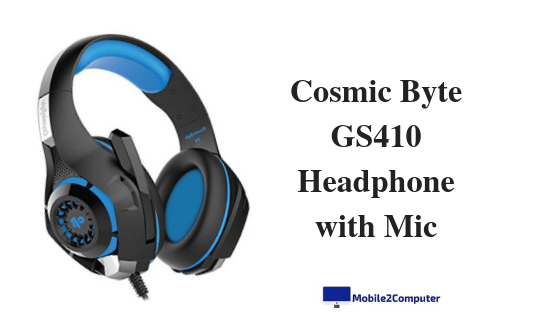 Cosmic Byte GS410 Budget gaming Headphone under 1000 INR