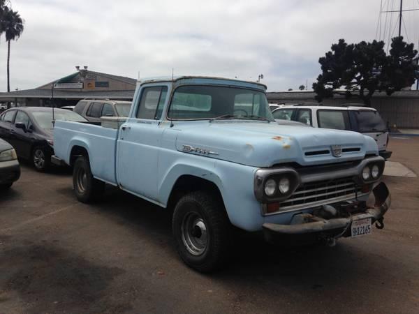 1960 Ford F100 4X4 Truck