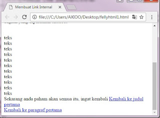 contoh internal link