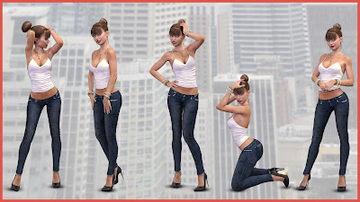 i13 Sizzle Pose Collection