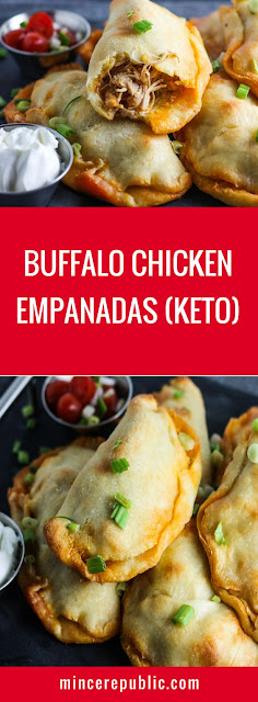 Buffalo Chicken Empanadas Perfect
