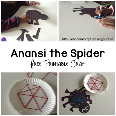 Anansi The Spider Craft Ideas