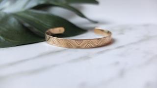 bracelet jonc maya bay - inopiné paris