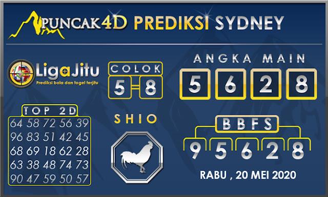 PREDIKSI TOGEL SYDNEY PUNCAK4D 20 MEI 2020
