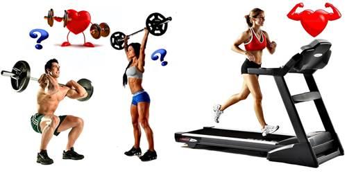 Conoce según la fisiología cómo debes combinar las pesas y el cardio