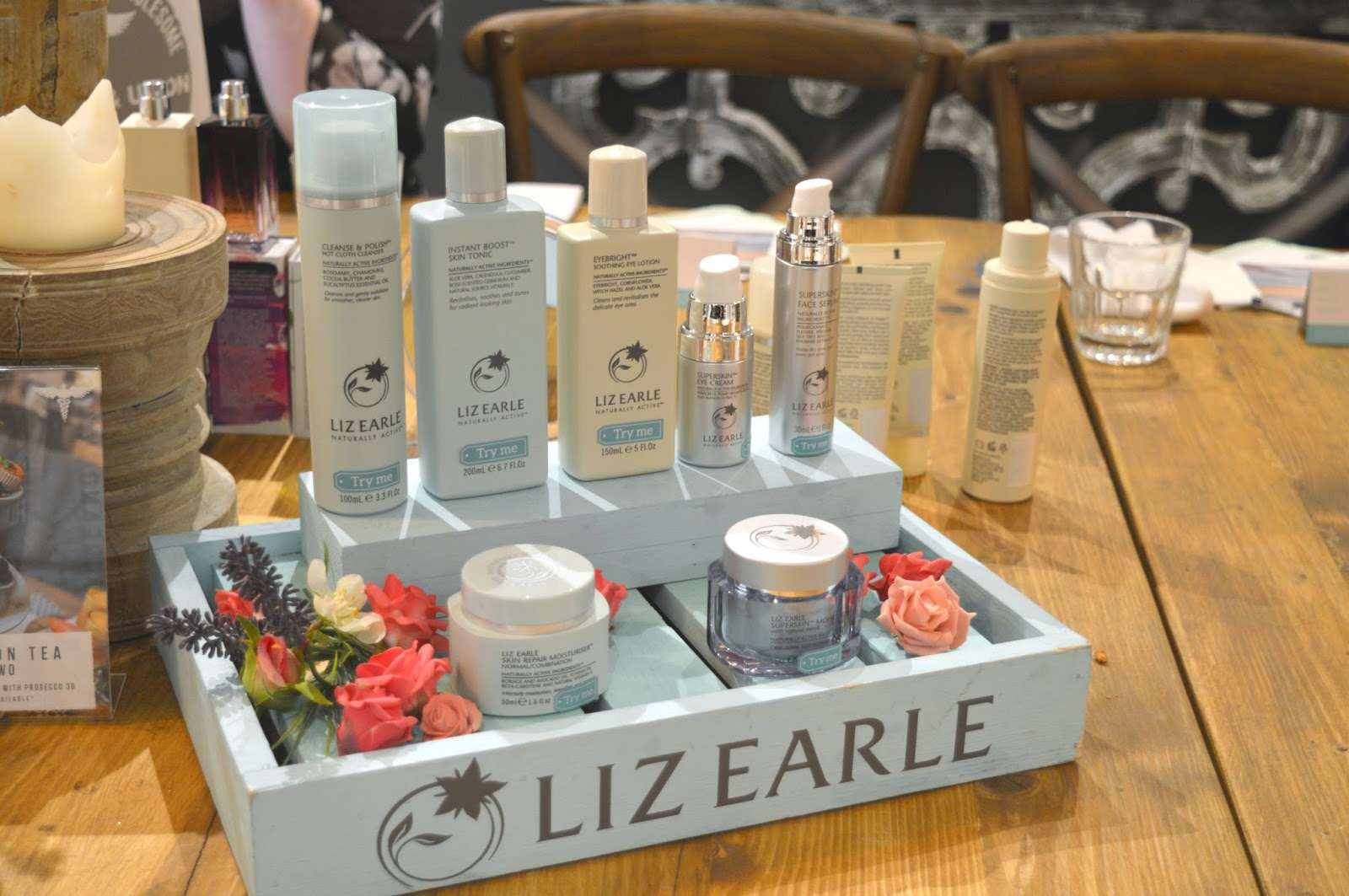 Liz Earle at John Lewis, Newcastle - Get The Glow!
