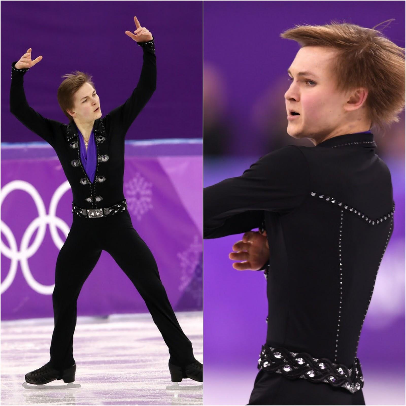 Nick Verreos Ice Style 2018 Winter Olympics Figure Skating Costumes Recap Men S Costumes