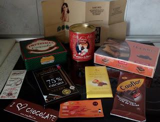 Botín del  Salón Internacional del Chocolate de Madrid.