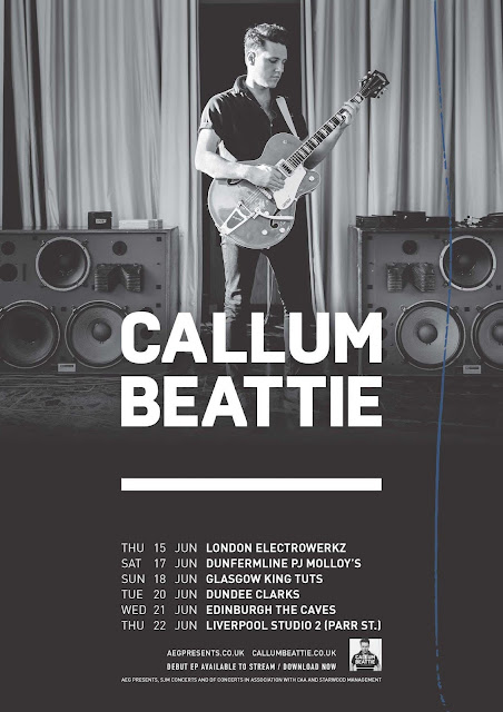 Callum Beattie announces UK & Ireland headline shows for June