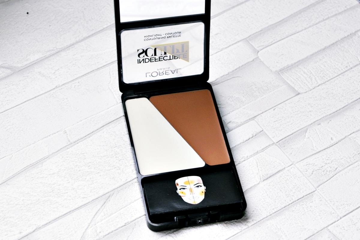 L'Oreal Indefectible Sculpt Contouring Palette - 02 Medium Light Open Product
