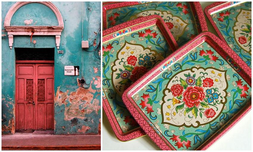 Colores vivos y llamativos en la decoración de la casa