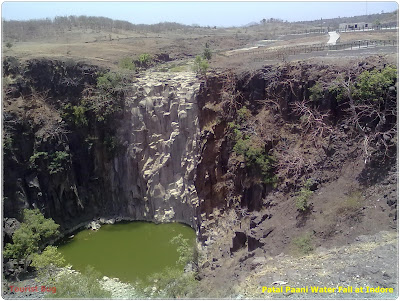 Water falls in Indore