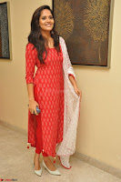 Anasuya Bharadwaj in Red at Kalamandir Foundation 7th anniversary Celebrations ~  Actress Galleries 047.JPG