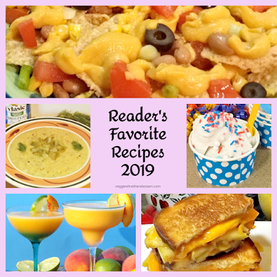 Veggies First Then Dessert: Reader's Favorites 2019