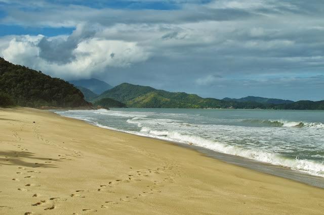 Praia de Puruba em Ubatuba
