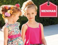 Foto de meninas na divulgação da loja EcaMeleca