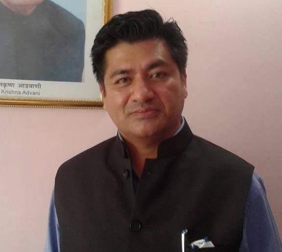 Bharatiya Janata Party President, Sikkim Pradesh, DB Chauhan