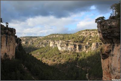 Vista de El Hosquillo desde el Rincón Del Buitre