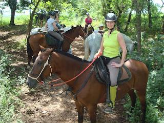 Costa Rica, criollo, riitta reissaa, ratsastusmatka