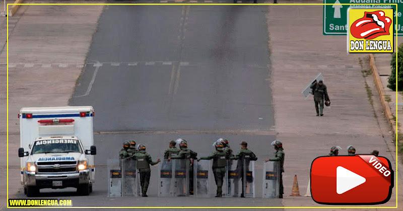 Régimen asesinó a 4 personas durante represión de Santa Elena de Uairén
